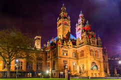 Kelvingrove Art Gallery and Museum in Glasgow Royalty Free Stock Photos