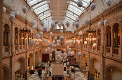 The Kelvingrove art gallery and museum Stock Images