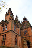 The Kelvingrove art gallery and museum, Glasgow, Scotland Royalty Free Stock Photo