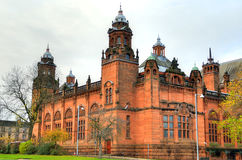 The Kelvingrove art gallery and museum, Glasgow, Scotland Royalty Free Stock Photography