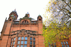 The Kelvingrove art gallery and museum, Glasgow, Scotland Royalty Free Stock Photo