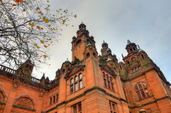 The Kelvingrove art gallery and museum, Glasgow, Scotland Stock Photo