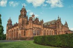 Kelvingrove Art Gallery und Museum, Glasgow, Großbritannien stockbilder