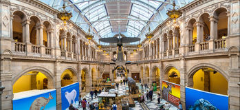 Kelvingrove Art Gallery y museo en Glasgow imagen de archivo libre de regalías