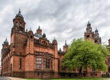 Kelvingrove-Museum, Glasgow, Schottland lizenzfreie stockbilder
