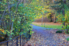 Kelvingrove Park - Glasgow, Scotland Stock Images