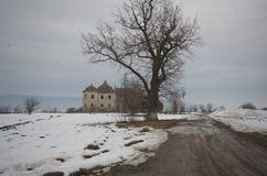 Kemény-Bánffy castle, Luncani, Romania Stock Images