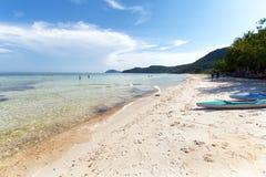 Kem Beach på den Phu Quoc ön, Vietnam Royaltyfria Foton