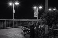 Kemah-Promenade Stockfoto
