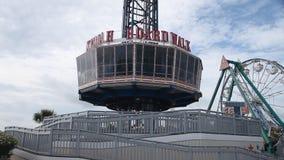 Kemah-Promenadenfahrt genannt den Kemah-Turm stock footage