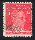 Kemal Ataturk 免版税图库摄影