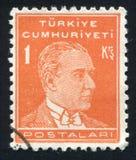 Kemal Ataturk 库存照片