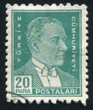 Kemal Ataturk 免版税库存图片