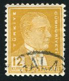 Kemal Ataturk 免版税库存照片