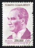 Kemal Ataturk images libres de droits