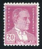 Kemal Ataturk 库存图片