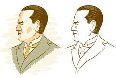 Kemal Ataturk Stock Images