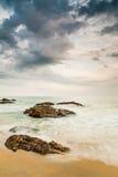 Kemasik Beach Stock Photography