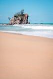 Kemasik beach terengganu view landscapes Royalty Free Stock Photo
