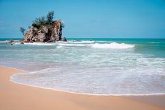 Kemasik beach terengganu view landscapes Stock Photos
