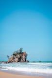 Kemasik beach terengganu view landscapes Royalty Free Stock Photography