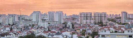 Kembangan Residential Area in Singapore Royalty Free Stock Photo