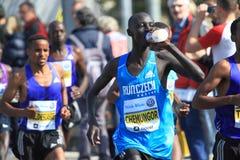 Kemboi Chemungor - Prague marathon 2015 Stock Photo