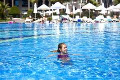 KEMER, ANTALYA, TURKEY - 19 JULY, 2018: Beautiful teenage girl i royalty free stock photography