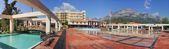 Kemer. City Plaza. Royalty Free Stock Image
