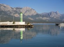 Kemer Marina, Antalya/Turkey stock photography