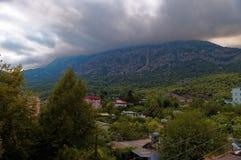 Kemer, montagne Fotografia Stock