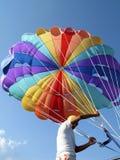 kemer parasailing personel indyk Fotografia Stock