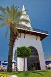 Kemer tower. Tower in centre of kemer city, antalya, turkey Royalty Free Stock Image