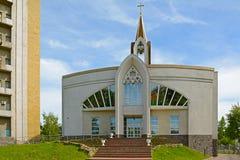 Kemerovo, Catholic Church Stock Image