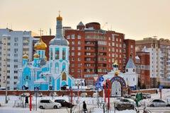 Kemerovo, ortodosso Immagine Stock