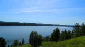 Kemerovo region Ingol jezioro Obrazy Stock