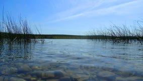 Kemerovo region Ingol jezioro Fotografia Stock