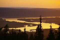 Kemi River Στοκ Εικόνες