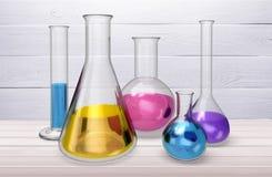 kemikalie vektor illustrationer