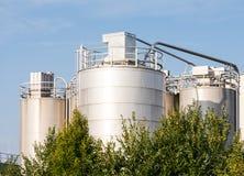 kemikalie 2011 kan den odessa växten ukraine Arkivfoto