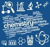 kemikalieer vektor illustrationer