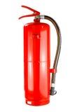 Kemisk brandsläckare som isoleras, med den snabba banan Royaltyfri Foto