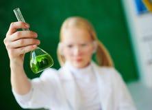 Kemisk flytande Arkivbild
