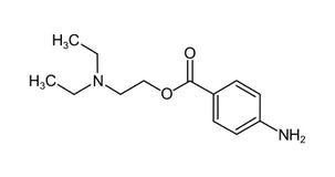 kemisk formel för kokain Arkivfoton