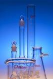 Kemisk glasföremål Arkivbilder