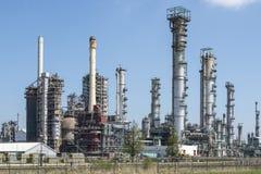 Kemisk raffinaderi i Botlek Rotterdam Arkivbilder