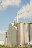 Kemiska fabriker Arkivfoton