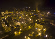 Kemiskt fabriksporslin Royaltyfri Bild