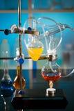 Kemiskt laboratorium Fotografering för Bildbyråer