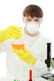 kemistockupation arkivfoto